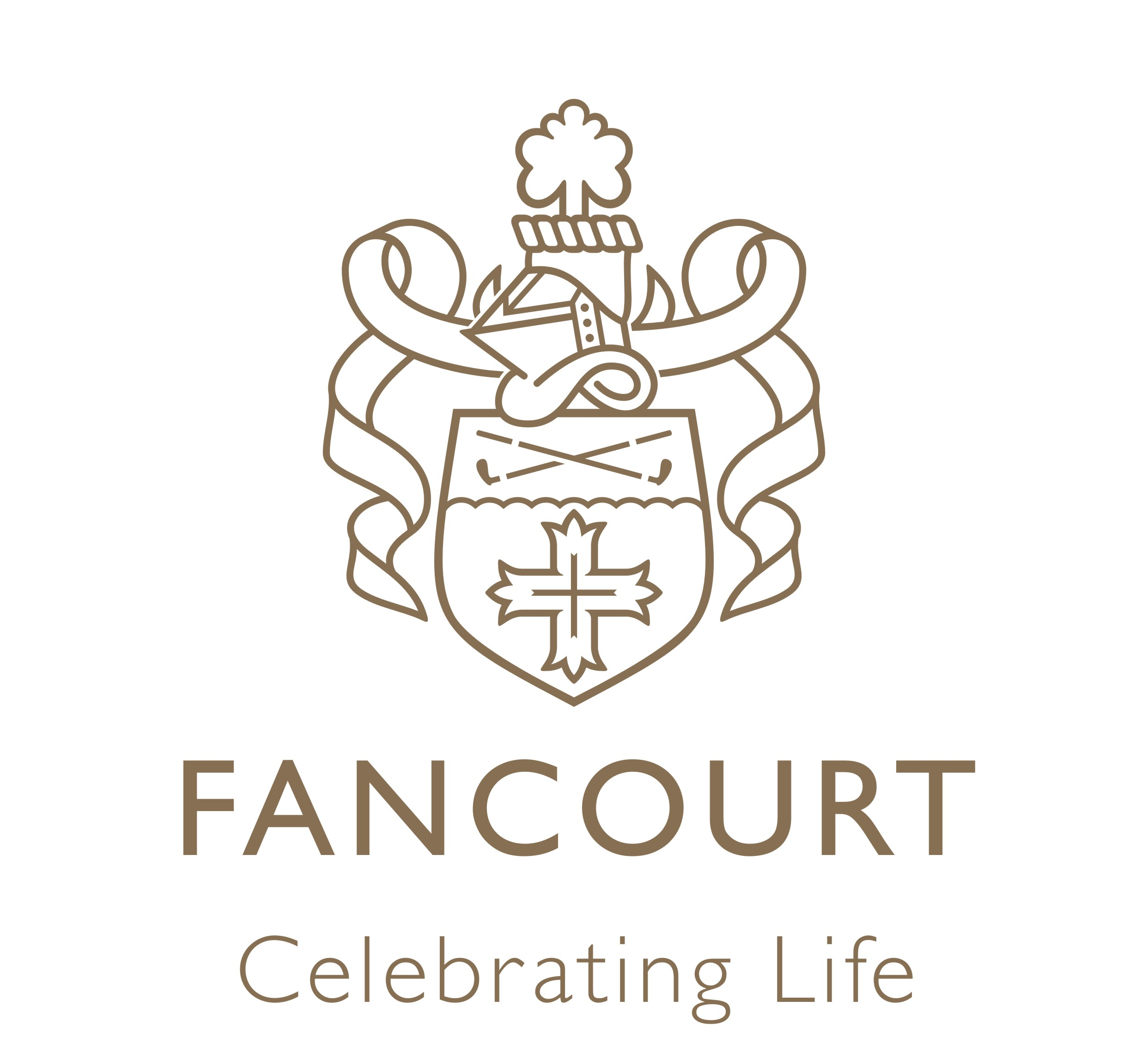 Fancourt Logo With Payoff Gold Golf In The Garden Route