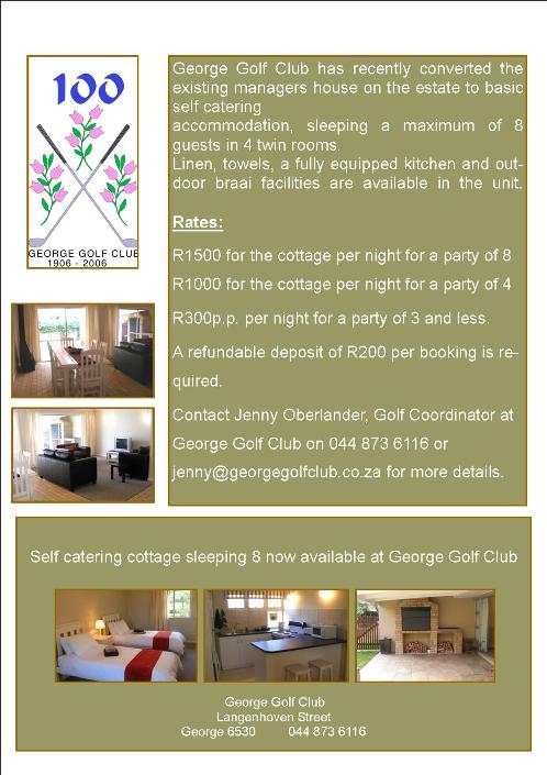 George accommodation ad