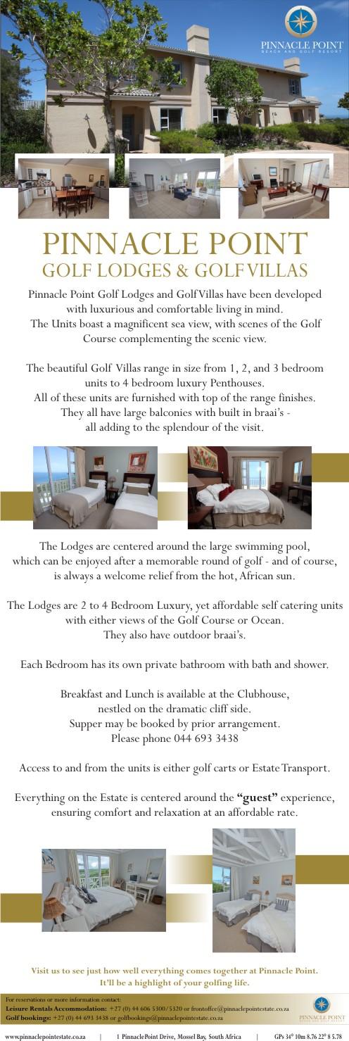 Pinnacle Point Lodges & Villas