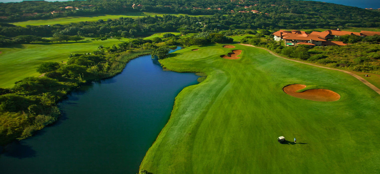 Zimbali Golf Course and Greens and Waterway