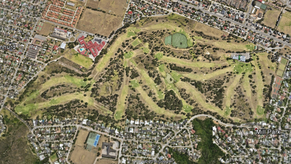 Port Elizabeth Golf Course - Course Layout - golfinthegardenroute.com