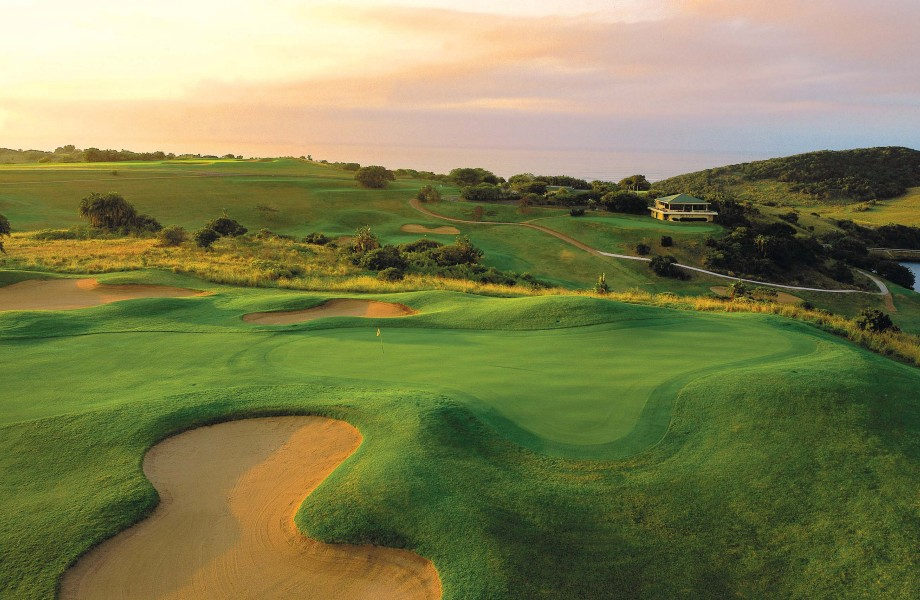 Wild Coast Golf Course Greens