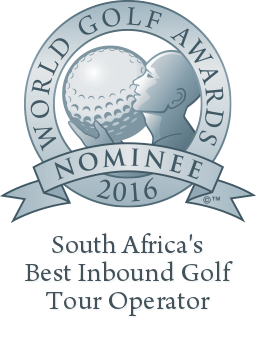 Best Inbound Golf Tour Operator - South Africa 2016
