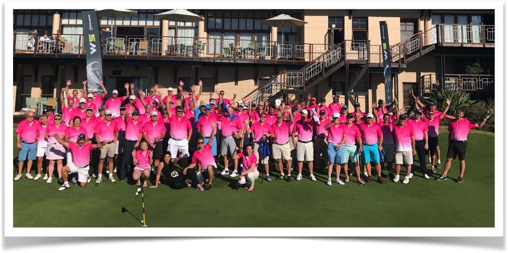 8th Annual Ultimate Garden Route Trip 2017 Group Photo - golfinthegardenroute.com