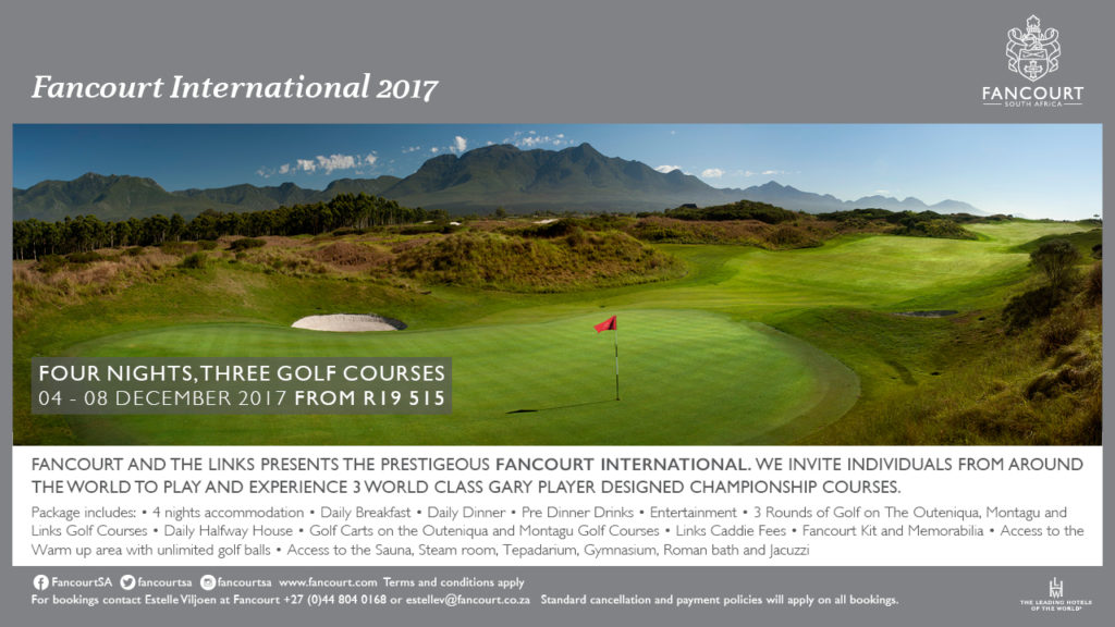 Fancourt International 4 - 8 Dec 17 - golfinthegardenroute.com