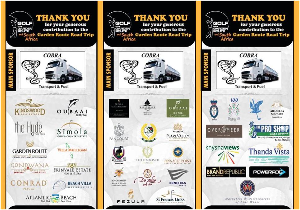 RT 2018 sponsors - golfinthegardenroute.com