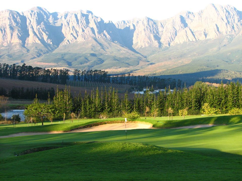 Erinvale Golf Course Mountain Landscape Greens