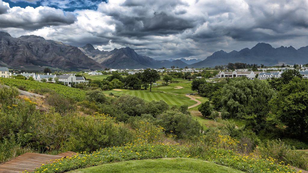 De Zalze Golf Club Fairways Greens Landscape