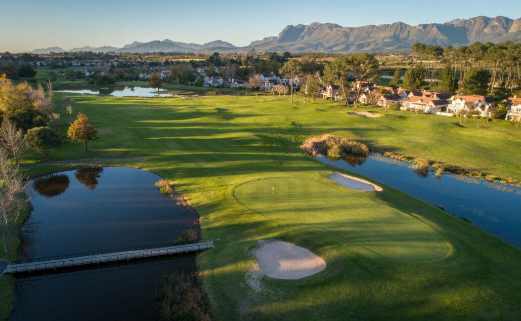 Paarl Golf Course Waterway Fairways Greens