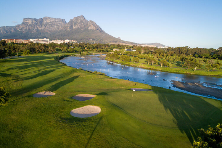 Rondebosch Golf Course Waterway Greens Bunkers