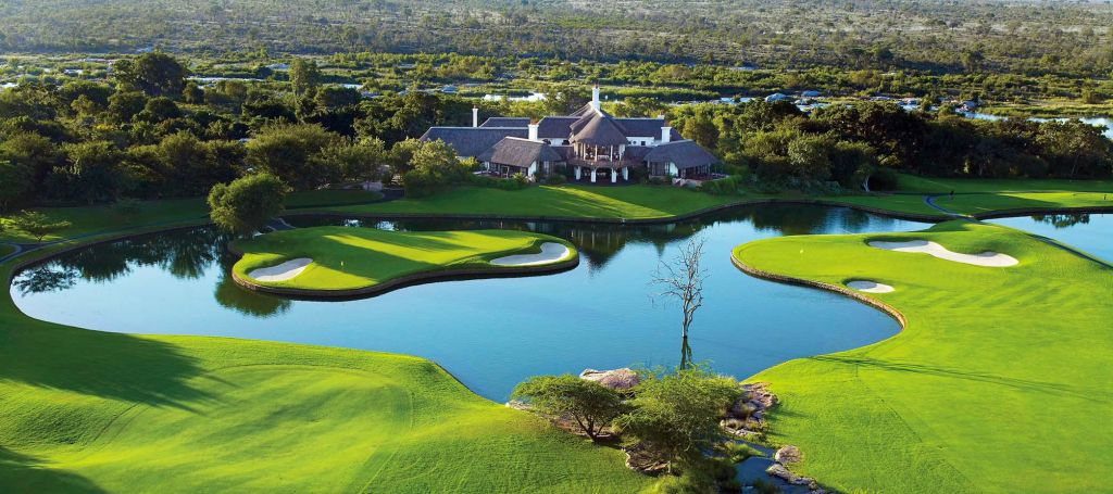Leopard Creek Waterway Greens and Clubhouse