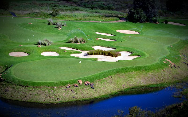 Elements Private Golf Course Water Greens