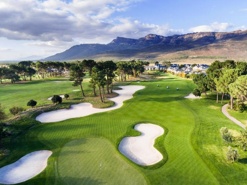 Pearl Valley Golf Course Greens Bunkers