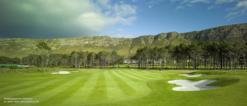 Hermanus Golf Course Greens Fairways Mountain