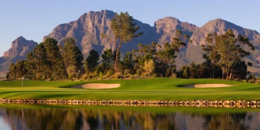 Somerset West Golf Course Greens Fairways Mountain