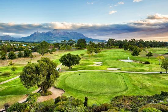 Stellenbosch Golf Course Greens Mountain